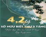 CHỈ 4,2 TỶ SỞ HỮU NGAY BIỆT THỰ SANG TRỌNG BẬC NHẤT THÀNH PHỐ HUẾ