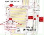 cần bán ô đất cách cổng chính viện nhi 100m, có thể xây dựng được ngay, xung quanh nhiều n