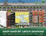 Mở bán shophouse khối đế greendiamond